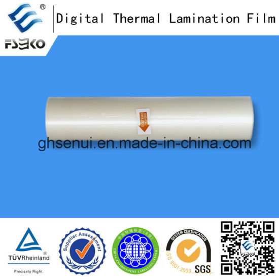 Super Bonding Thermal Lamination Film for Digital Printing (35mic Gloss) pictures & photos
