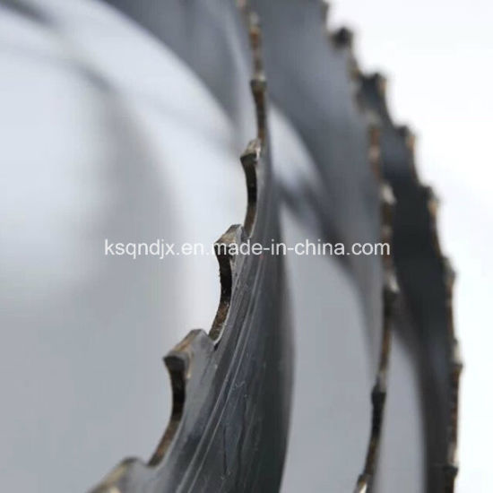 China High Performance Carbide Tipped Band Saw Blades China Band