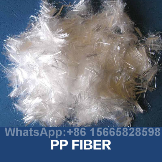 Engineering Polypropylene PP Fiber for Concrete pictures & photos
