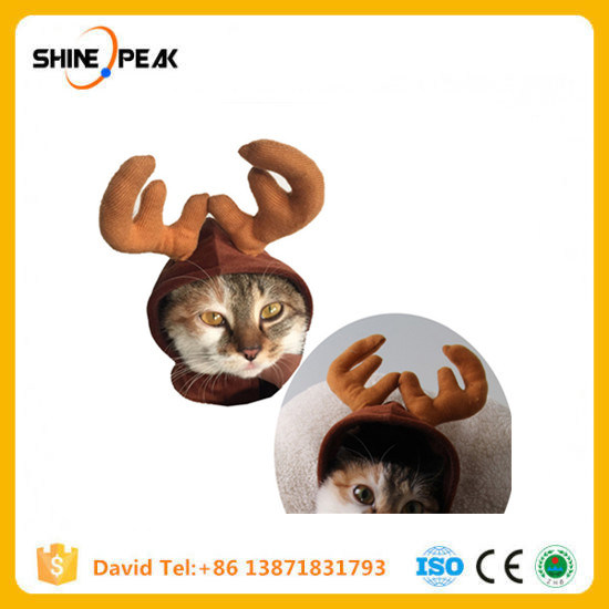 Super Funny Suit for Pet Cat Costumes Animal Clothing Dog Clothes for Cats Cosplay Pets Products Elk Hat Christmas Xmas Special