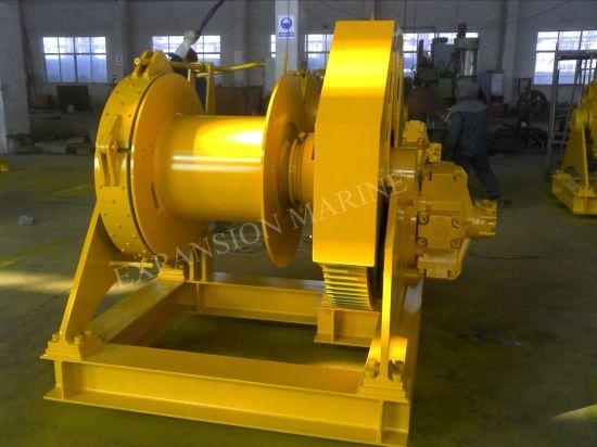 Marine Electric or Hydraulic Single Drum or Multi Drum Mooring Winches