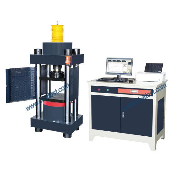Automatic Hydraulic Servo 3000kn Compression Testing Machine