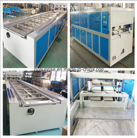 Plastic PVC Board Wall Panel Window Profile Production Line pictures & photos