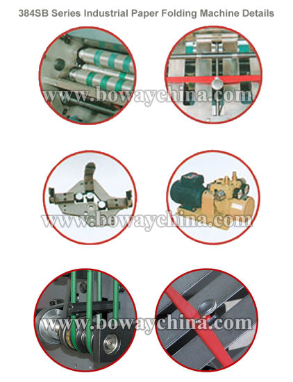 Boway 22000sheets Automatic Industrial A4 Paper Folding Machine with Cross Folder & Feeding Station 384sbd pictures & photos