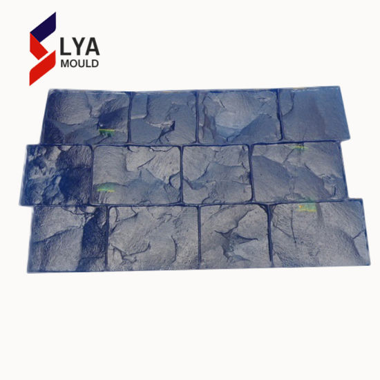 Flexible Rubber Stamped Stone Mold Driveway Stamp Concrete Mats