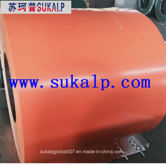 Beckers Prepainted Paint Coated Galvanized Steel Coil PPGI PPGL Factory pictures & photos