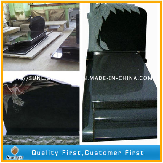 G664/Shanxi Black/G603/Aurora/G654 Granite Carving Tombstone Monument for Memorial/Cemetery pictures & photos