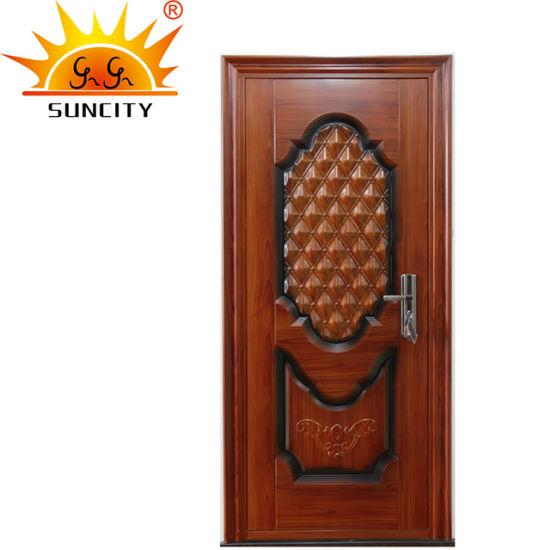 Latest Design Steel Safety Single Door Design (SC-S013)