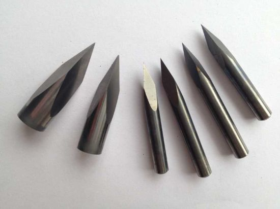 Solid Carbide Three-Faced CNC Cutting Tools for Aluminum