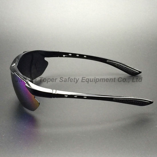 Colourful Mirror Lens Sport Type Safety Glasses (SG115) pictures & photos