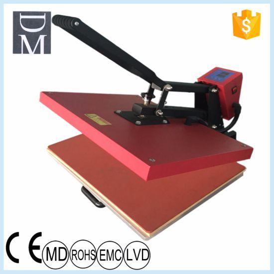 China 40*60cm Manual Sublimation Vinyl T Shirt Flat Heat