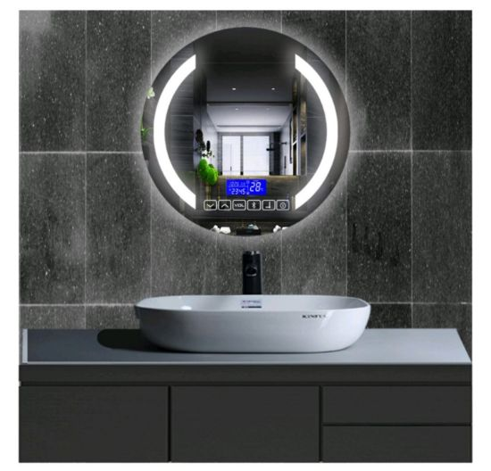 Chinese Manufacture Hotel Decorative Mirror Led Smart Mirror Waterproof Anti Fogging With Bluetooth Touch Sensor China Shopping Mall Dressing Mirror Intelligence Intelligent Mirror