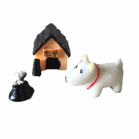 Polyresin Sculpture Mini Figures Children Toys Garden Decoration Resin Crafts