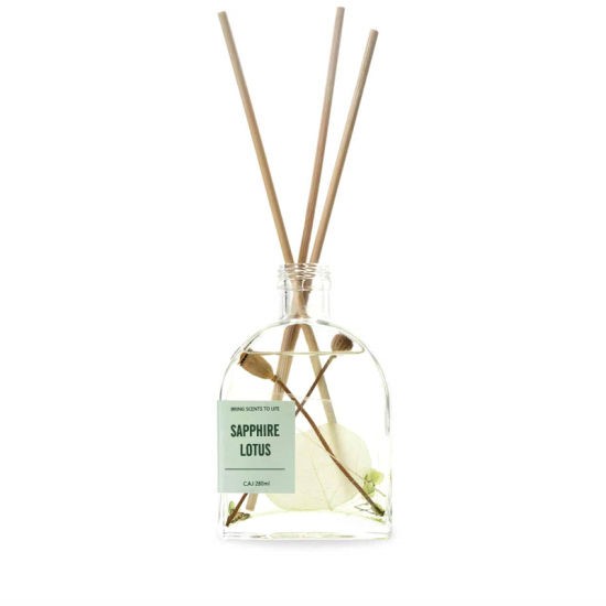Wholesale Factory Customer Logo Aroma Flower Reed Diffuser for Home
