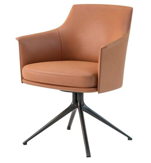 Steel Base Leather or Fabric High Level Customized Dining Chair