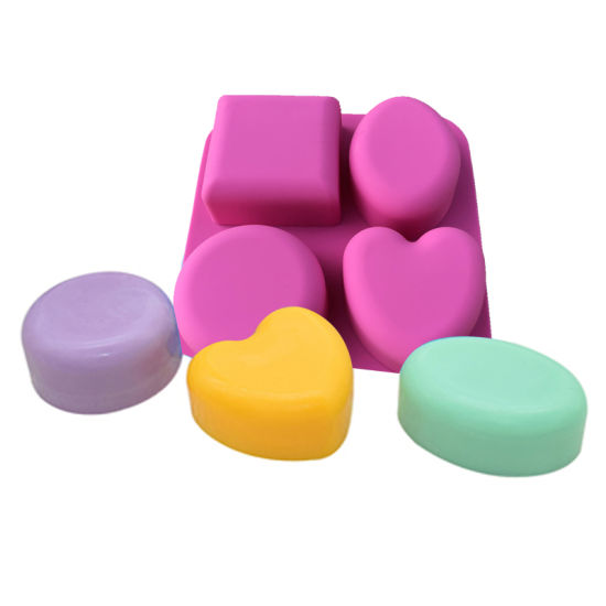 Heart Shape Silicone Baking Cups Cupcake Liners Silicone Muffin Cups