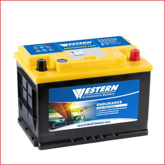 12V/75ah Mf Automotive/Car-Battery Best Wholesale Price Maintenance-Free SLA/Sealed-Lead-Acid Automobile/Truck/Auto Battery
