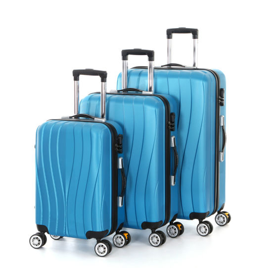 2019 New Design 3PCS 20 24 28 Inch Suitcase ABS Cabin Luggage (XHA117)