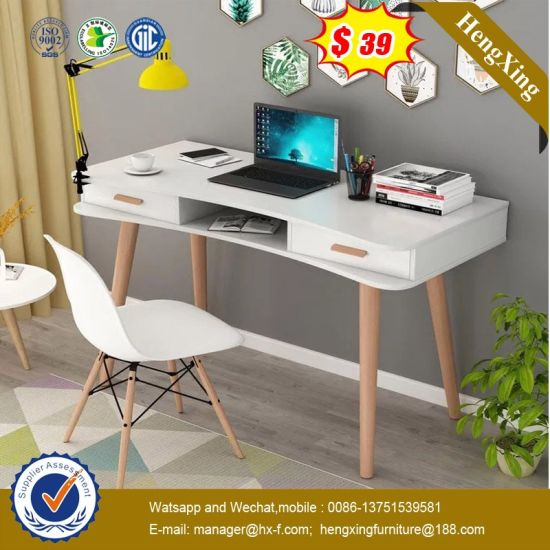 Italy Design Bedroom Furniture Wooden Legs Modern Study Table