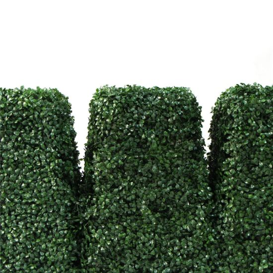 China Artificial Grass Topiary Garden Decoration Boxwood Topiary