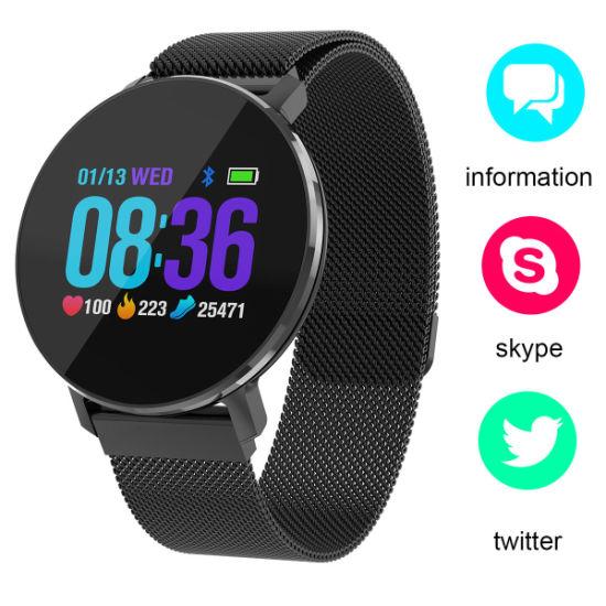 "Timethinker T5 Smartwatch IP68 Waterproof Blood Pressure Heart Rate Monitor 1.04"" Touch Screen"