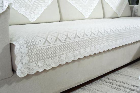 China Lattice Multi Fuction Lace Furniture And Sofa Fabric Sofa Cover China Sofa Fabric And Table Cover Price