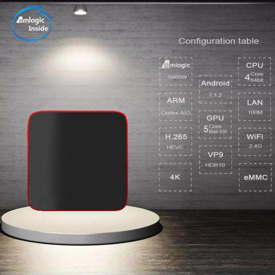 China IPTV Box Android 7 0 Pendoo X8 Mini HD Media Player