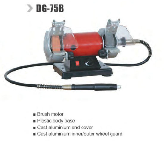 Groovy China Mini Bench Grinder With Brush Motor Dg 75B China Gmtry Best Dining Table And Chair Ideas Images Gmtryco