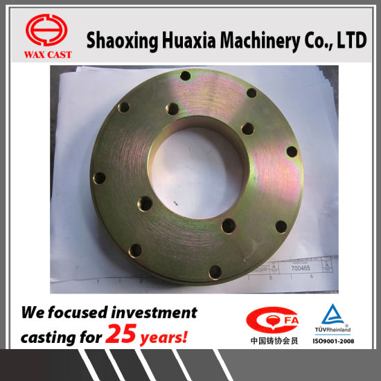 Lost Wax Casting Precision Casting SS304 Valve Flanges