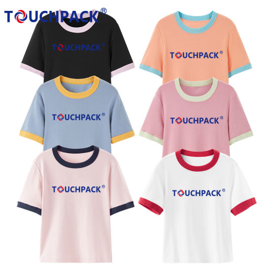 Cotton Material Custom Logo Clothing Promotional T Shirt