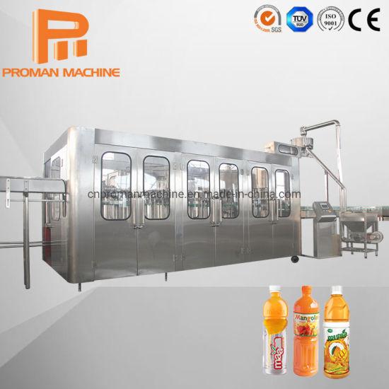 Automatic Juice Beverage Filling Machine Production Line