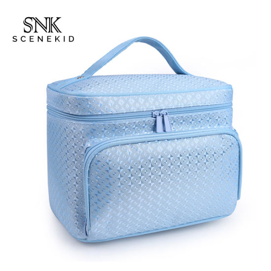 Wholesale Fabric Travel Cosmetic Bag Makeup Women, Travel Toiletry Promotional Cosmetic Bag