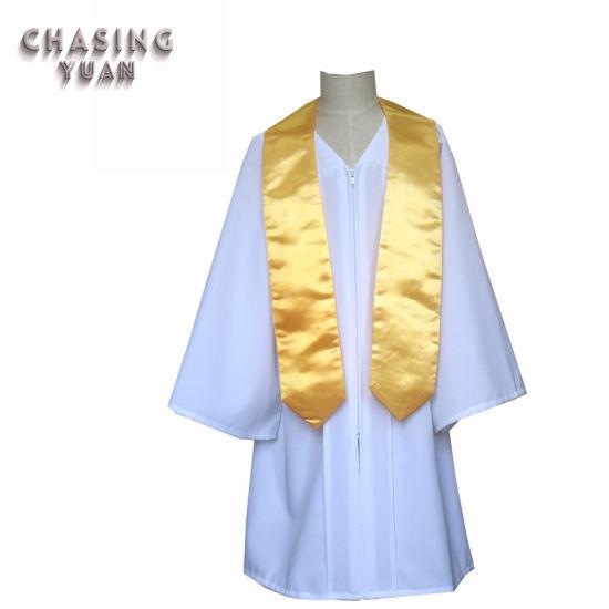 China Manufacture Cheap Wholesale Matte Graduation Gowns for Children