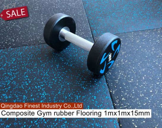 Premium Crossfit Rubber Flooring Tile