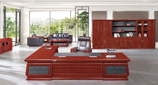 Luxury High End Office Table Design Good Price Executive Office Desk From China pictures & photos