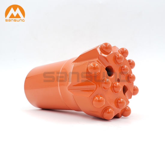 High Carbon Steel Carbide Tipped Drills Button Bit