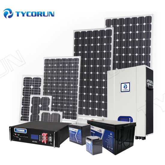Tycorun Portable Home Power Generators off Grid Solar PV Panel Energy Power System