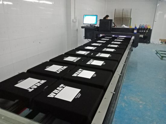 Fd1323 Flatbed Shirt Printer for Cotton Direct Printing
