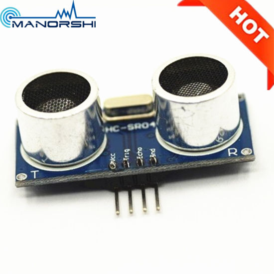 Hc-Sr04 Open Type Robotic Ultrasonic Sensor Module for Robort