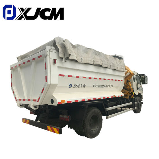 China Factory Sale Compactor Dump Transfer Garbage Truck pictures & photos