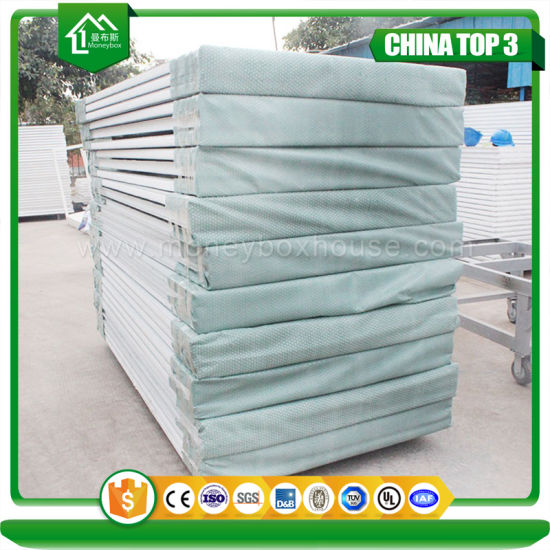 Insulated Fire Rated Home Depot Polyurethane EPS Sandwich Wall Panel