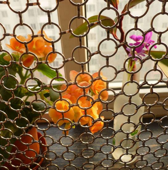 Chain Link Curtain Mesh Vorhang for Room Divider
