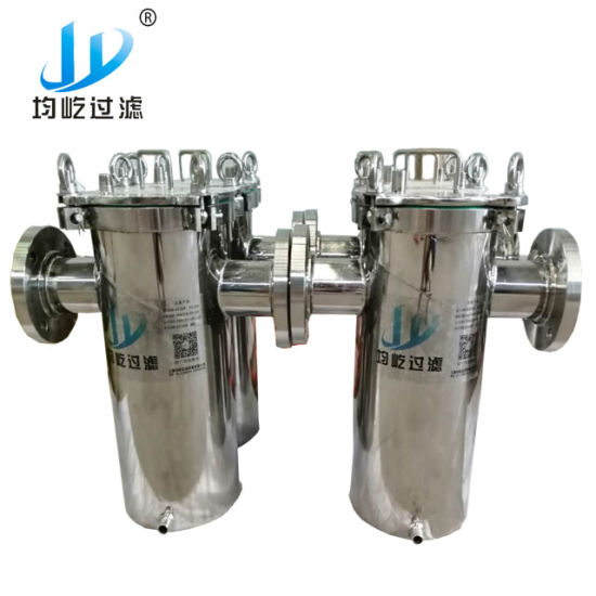 River Sewage Large Flow 304ss Durable Basket Strainer