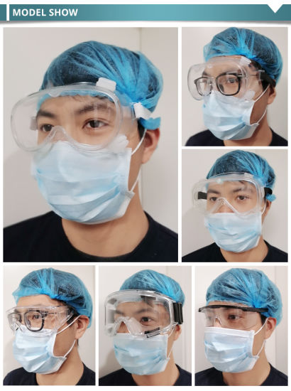 Wholesale Anti Fog Clear Indirect Venting Protective Glasses Goggles