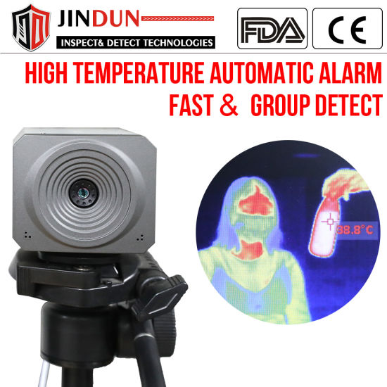Station Non Contact Imaging Digital Body Temperature Detection Thermal Camera