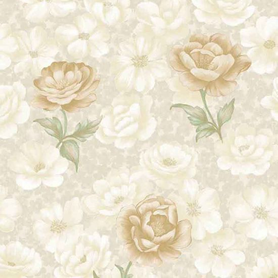Floral Yellow Rose Elegant Home PVC Luxury 3D Waterproof Wall Paper for Home Decoration