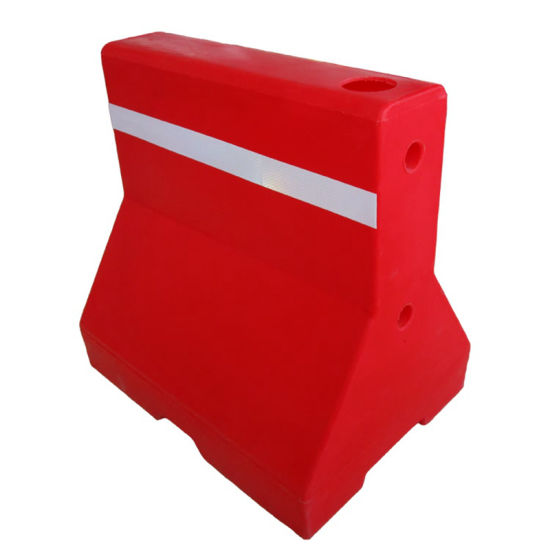 Hight Quality Red Plastic Traffic Barrier for Sale