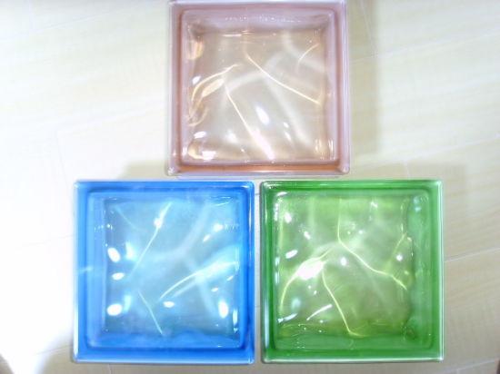190 80mm Glass Blocks Bricks, Decorative Glass Blocks