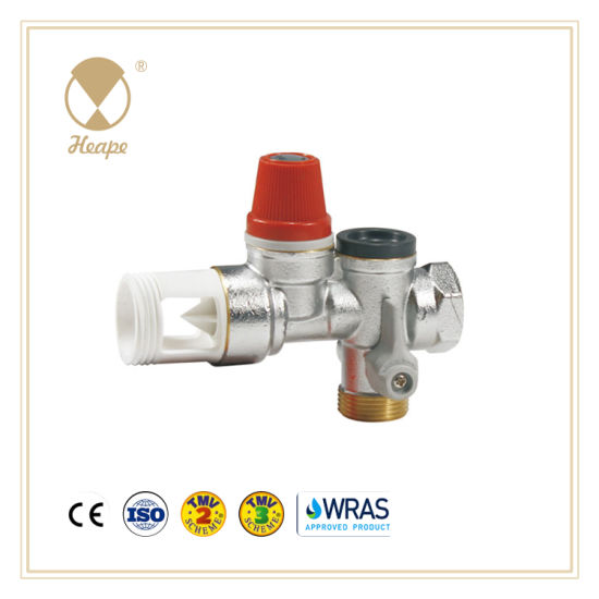 Heape Brass Multifunction Safety Relief Valve for Equipment