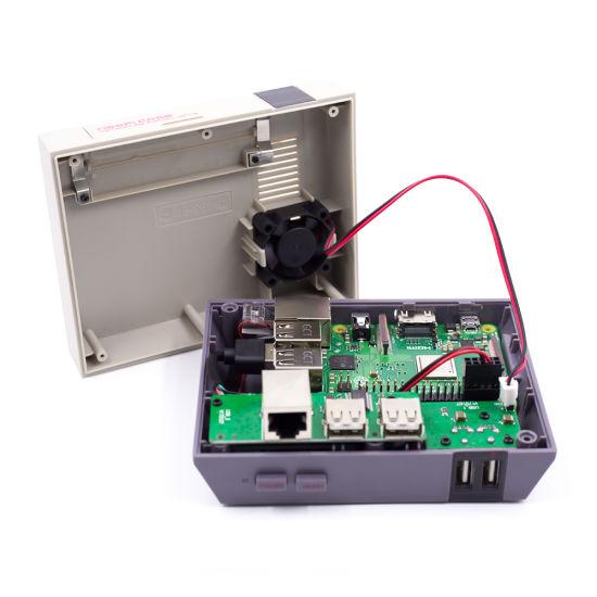 Retroflag Superpi Case-J Nespi Case Box with Shutdown Function for Raspberry Pi 3 Model B+ B Plus 2B // 3B